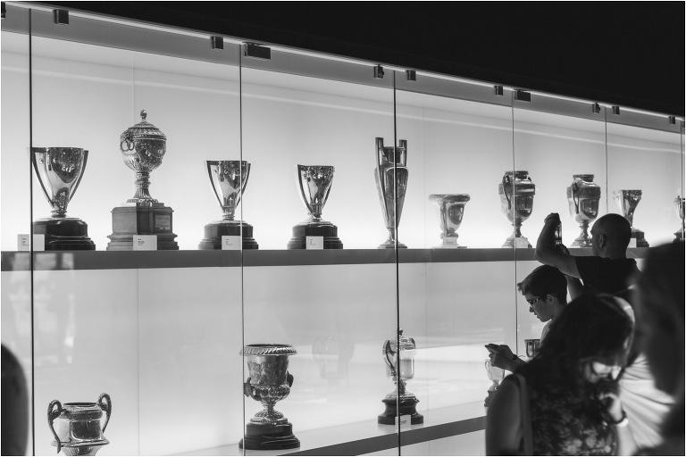 Trophy Cabinet Camp Nou Barcelona