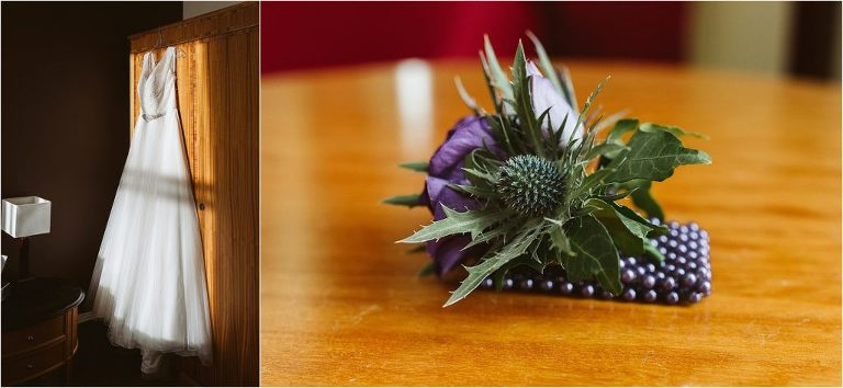 wedding-dress-with-sunlight-hitting-it-thistle-wrist-corsage